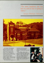 Page 16, 1985 Edition, Bethany College - Bethanian Yearbook (Bethany, WV) online yearbook collection