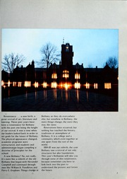 Page 7, 1985 Edition, Bethany College - Bethanian Yearbook (Bethany, WV) online yearbook collection