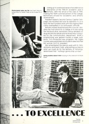 Page 11, 1987 Edition, Bethany College - Bethanian Yearbook (Bethany, WV) online yearbook collection