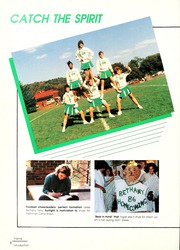 Page 12, 1987 Edition, Bethany College - Bethanian Yearbook (Bethany, WV) online yearbook collection