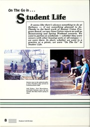 Page 12, 1988 Edition, Bethany College - Bethanian Yearbook (Bethany, WV) online yearbook collection