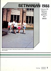 Page 5, 1988 Edition, Bethany College - Bethanian Yearbook (Bethany, WV) online yearbook collection