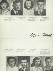 Page 12, 1950 Edition, Moose Lake High School - Minicahda Yearbook (Moose Lake, MN) online yearbook collection