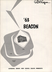 Page 5, 1963 Edition, Cathedral High School - Beacon Yearbook (Duluth, MN) online yearbook collection