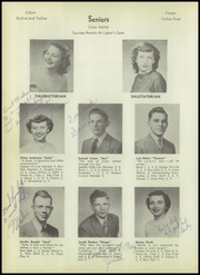 Page 16, 1950 Edition, Chosen Valley High School - Burr Oak Yearbook (Chatfield, MN) online yearbook collection