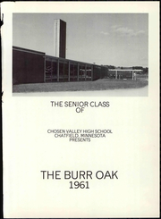 Page 7, 1961 Edition, Chosen Valley High School - Burr Oak Yearbook (Chatfield, MN) online yearbook collection