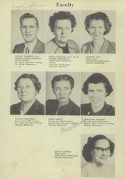Page 11, 1951 Edition, Barnum High School - Reflector Yearbook (Barnum, MN) online yearbook collection