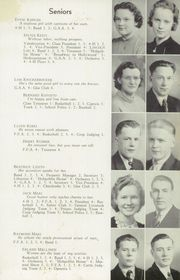 Page 11, 1938 Edition, Lincoln High School - Lincoln Log Yearbook (Esko, MN) online yearbook collection