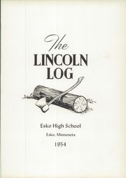 Page 5, 1954 Edition, Lincoln High School - Lincoln Log Yearbook (Esko, MN) online yearbook collection