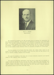 Page 8, 1937 Edition, Granite Falls High School - Kilowatt Yearbook (Granite Falls, MN) online yearbook collection
