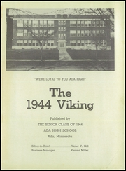 Page 5, 1944 Edition, Ada High School - Viking Yearbook (Ada, MN) online yearbook collection