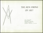 Page 5, 1957 Edition, Ada High School - Viking Yearbook (Ada, MN) online yearbook collection
