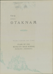 Page 9, 1931 Edition, Mankato High School - Otaknam Yearbook (Mankato, MN) online yearbook collection