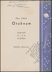 Page 7, 1935 Edition, Mankato High School - Otaknam Yearbook (Mankato, MN) online yearbook collection