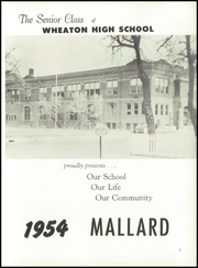 Page 5, 1954 Edition, Wheaton High School - Mallard Yearbook (Wheaton, MN) online yearbook collection