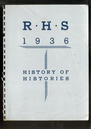1936 Edition, Rochester High School - Rochord Yearbook (Rochester, MN)