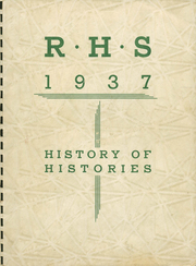 1937 Edition, Rochester High School - Rochord Yearbook (Rochester, MN)