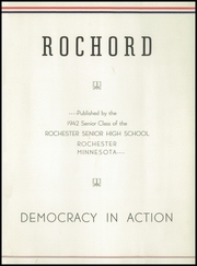 Page 5, 1942 Edition, Rochester High School - Rochord Yearbook (Rochester, MN) online yearbook collection