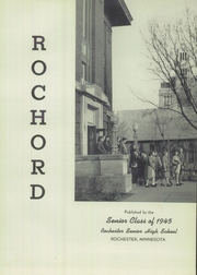 Page 5, 1945 Edition, Rochester High School - Rochord Yearbook (Rochester, MN) online yearbook collection