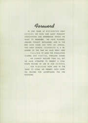 Page 6, 1945 Edition, Rochester High School - Rochord Yearbook (Rochester, MN) online yearbook collection