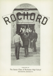 Page 5, 1946 Edition, Rochester High School - Rochord Yearbook (Rochester, MN) online yearbook collection
