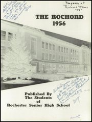 Page 5, 1956 Edition, Rochester High School - Rochord Yearbook (Rochester, MN) online yearbook collection