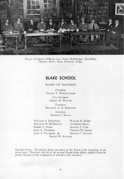 Page 10, 1950 Edition, Blake School - Call O Pan Yearbook (Hopkins, MN) online yearbook collection