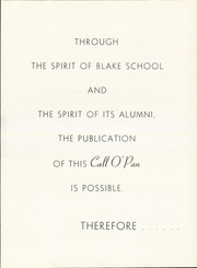 Page 11, 1957 Edition, Blake School - Call O Pan Yearbook (Hopkins, MN) online yearbook collection