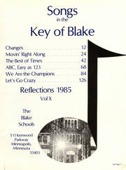 Page 5, 1985 Edition, Blake School - Call O Pan Yearbook (Hopkins, MN) online yearbook collection