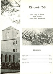 Page 5, 1968 Edition, Our Lady of Peace High School - Resume Yearbook (St Paul, MN) online yearbook collection