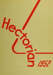 Page 1, 1952 Edition, Hector High School - Hectorian Yearbook (Hector, MN) online yearbook collection