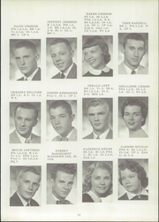 Page 15, 1958 Edition, Hector High School - Hectorian Yearbook (Hector, MN) online yearbook collection
