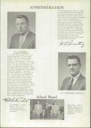 Page 7, 1958 Edition, Hector High School - Hectorian Yearbook (Hector, MN) online yearbook collection