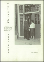 Page 5, 1958 Edition, Tyler High School - Tylerian Yearbook (Tyler, MN) online yearbook collection