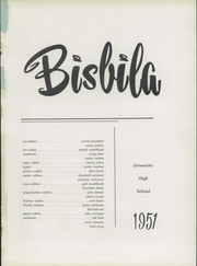 Page 5, 1951 Edition, University High School - Bisbila Yearbook (Minneapolis, MN) online yearbook collection