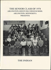 Page 7, 1974 Edition, Arlington Green Isle High School - Indian Yearbook (Arlington, MN) online yearbook collection