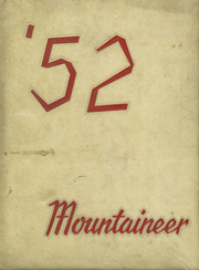 1952 Edition, Mountain Iron High School - Mountaineer Yearbook (Mountain Iron, MN)
