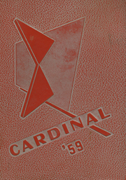 1959 Edition, Harmony High School - Cardinal Yearbook (Harmony, MN)