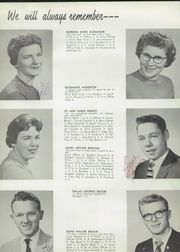 Page 14, 1959 Edition, Harmony High School - Cardinal Yearbook (Harmony, MN) online yearbook collection
