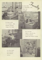 Page 6, 1956 Edition, St Clair High School - Clarion Yearbook (St Clair, MN) online yearbook collection
