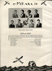 Page 8, 1930 Edition, Gilbert High School - Mi Kana Yearbook (Gilbert, MN) online yearbook collection