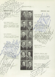Page 13, 1940 Edition, Starbuck High School - Chippewan Yearbook (Starbuck, MN) online yearbook collection
