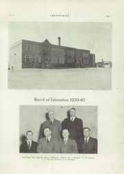 Page 5, 1940 Edition, Starbuck High School - Chippewan Yearbook (Starbuck, MN) online yearbook collection