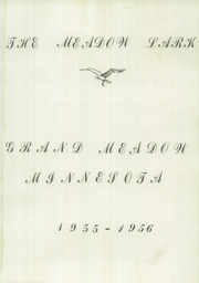Page 5, 1956 Edition, Grand Meadow High School - Meadow Lark Yearbook (Grand Meadow, MN) online yearbook collection