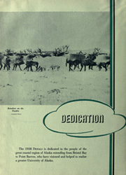 Page 10, 1938 Edition, University of Alaska Fairbanks - Denali Yearbook (Fairbanks, AK) online yearbook collection
