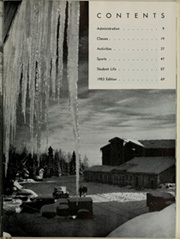 Page 11, 1952 Edition, University of Alaska Fairbanks - Denali Yearbook (Fairbanks, AK) online yearbook collection