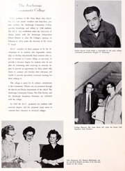 Page 14, 1960 Edition, University of Alaska Fairbanks - Denali Yearbook (Fairbanks, AK) online yearbook collection