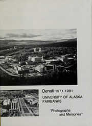 Page 5, 1981 Edition, University of Alaska Fairbanks - Denali Yearbook (Fairbanks, AK) online yearbook collection