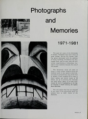 Page 9, 1981 Edition, University of Alaska Fairbanks - Denali Yearbook (Fairbanks, AK) online yearbook collection