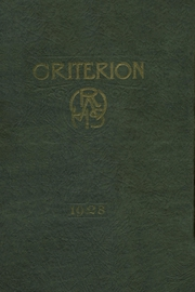 1928 Edition, Central High School - Scarlet Feather Yearbook (Red Wing, MN)